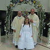 Faith's 1st Communion : Faith celebrated her First Holy Eucharist on May 2, 2009